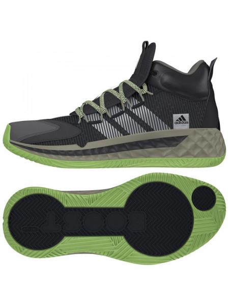 Adidas Pro Boost Mid M FW9510 basketball shoe (63488)
