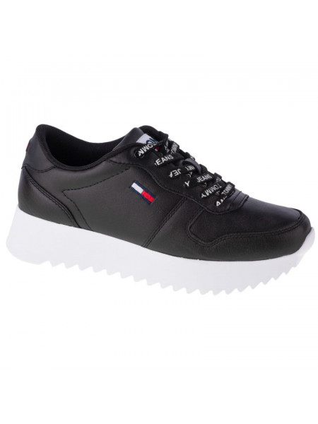 Tommy Hilfiger High Cleated Leather W EN0EN01120-BDS shoes (63227)
