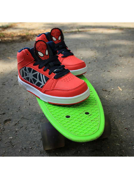 Chlapčenské tenisky Marvel Spiderman Light Up Hi Top Infant Boys Trainers
