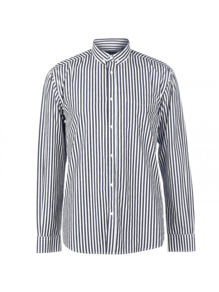 Pánska košeľa Pierre Cardin Bold Stripe Long Sleeve Shirt Mens