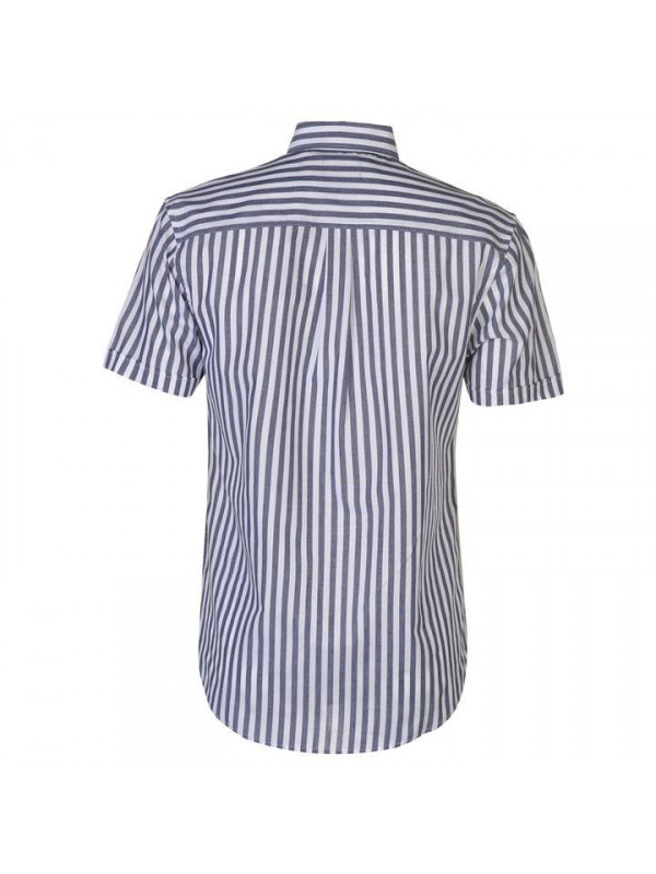 Pánska košeľa Pierre Cardin Washed Stripe Short Sleeve Shirt Mens