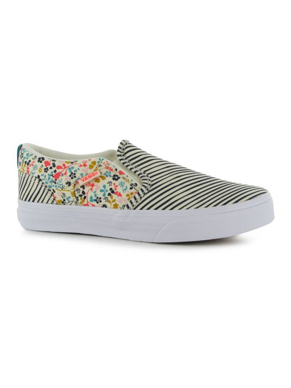 Dievčenské plátenky Vans Asher Slip On Canvas Junior Shoes 4ba6ff724f4
