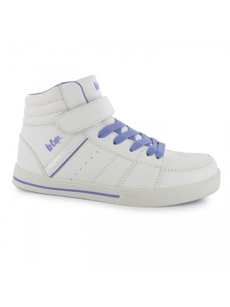 Juniorské tenisky Lee Cooper - Rava Childrens Hi Top Trainers