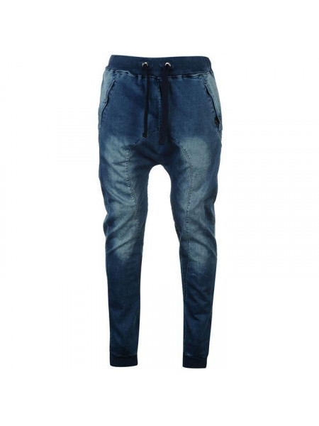 Pánske rifle Crafted Cuff Knit Jeans Mens