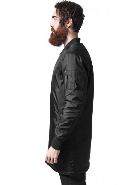 Pánska bunda Urban Classics Long Men Bomber Jacket