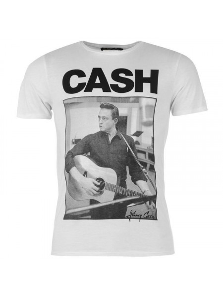 Pánske tričko Official Johnny Cash T Shirt Mens