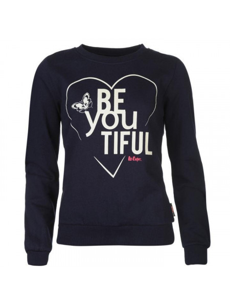 Dámska mikina Lee Cooper Crew Sweatshirt Ladies