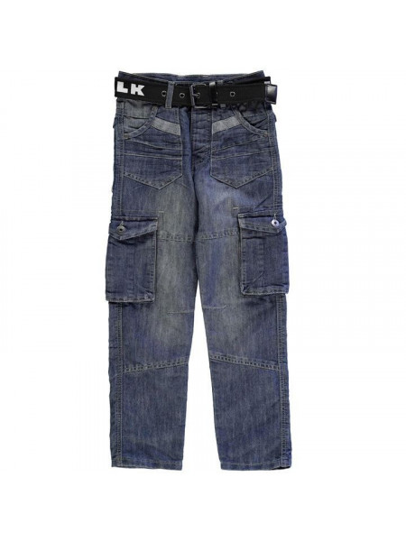 Chlapčenské rifle Airwalk Dark Wash Jean Junior