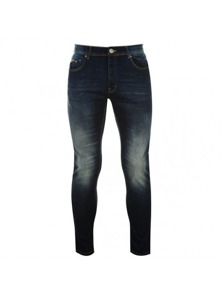 Pánske rifle Crafted Skinny Stretch Mens Jeans