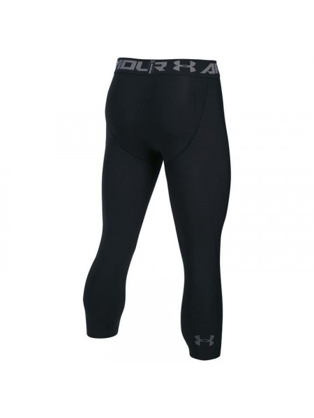 Pánske legíny Under Armour Heatgear Three Quarter Tights Mens