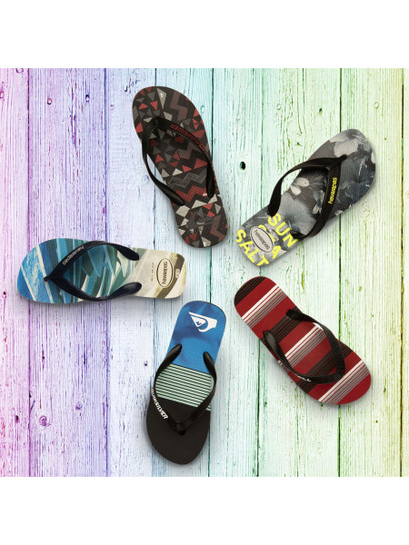 Quiksilver - Check Knock Mens Flip Flops