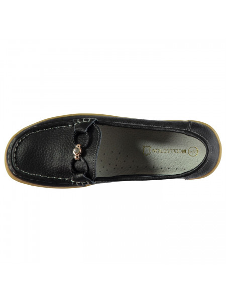 M Collection - Leather Ladies Loafers