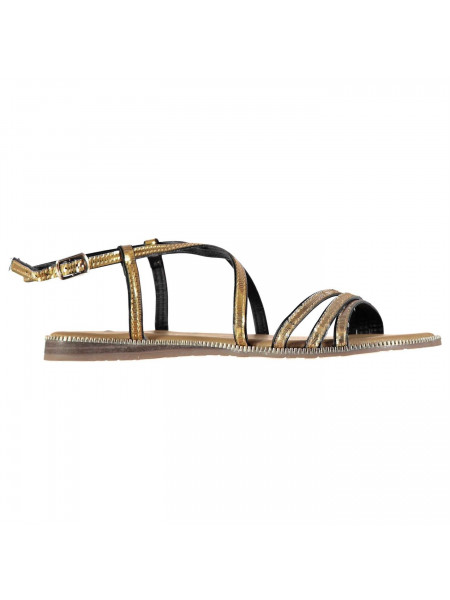 Full Circle - Gold Detail Ladies Sandals