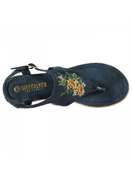 SoulCal - Embroidered Ladies Sandals