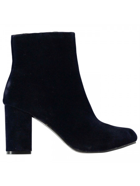Rock and Rags - Velvet Heeled Boots