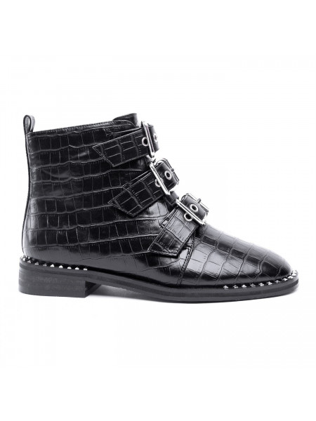 Glamorous - Front Buckle Boots