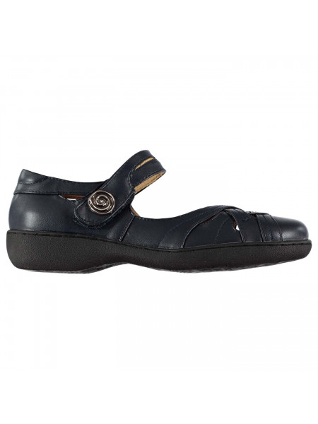 Ultimate Comfort - Cut Out T Bar Ladies Shoes