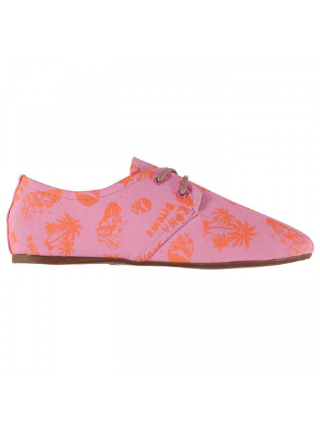 Iron Fist - Iron Ladies Flat Canvas Shoes