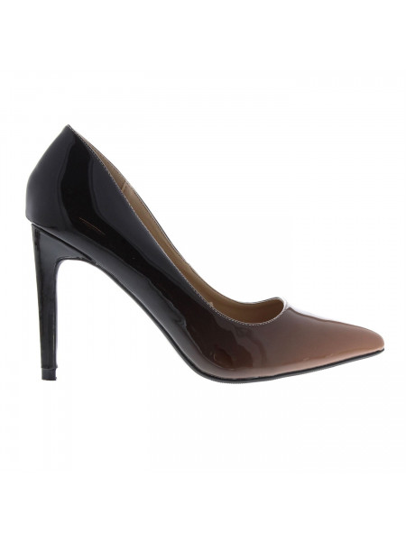 Full Circle - Ombre Ladies Court Shoes