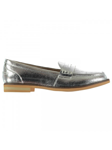 Full Circle - Ladies Metallic Loafers
