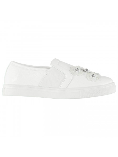 Rock and Rags - Slip On Ladies Trainers