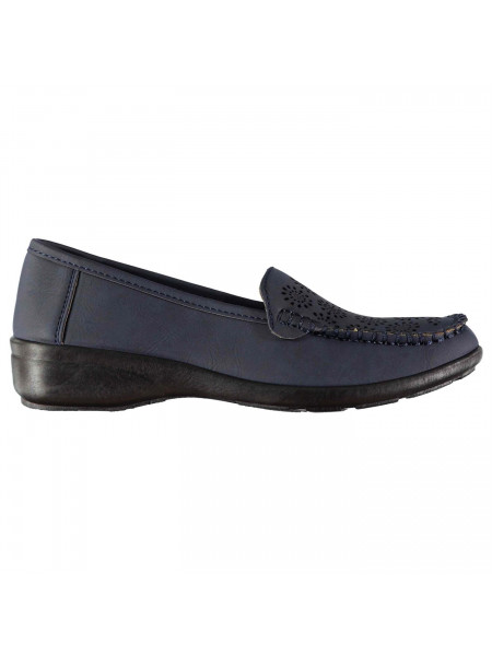 Ultimate Comfort - Cut Out Loafers Ladies
