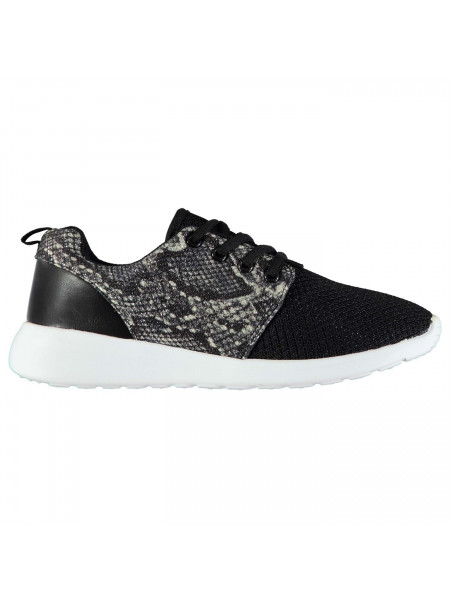 Rock and Rags - Snake Mesh Trainers