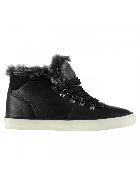 SoulCal - Fur Hi Tops Ladies