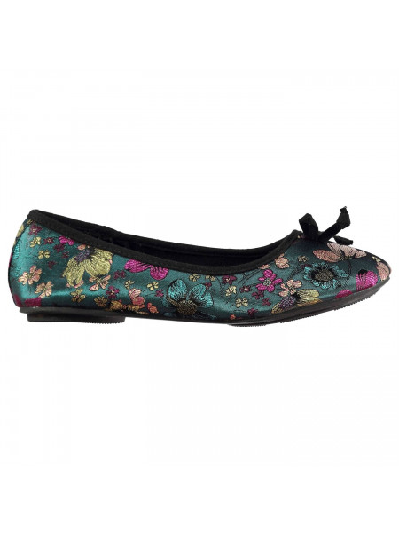 Miso - Floral Ladies Ballet Shoes