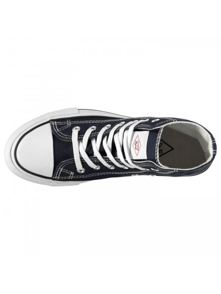 Lee Cooper - Canvas Hi Top Shoes Mens