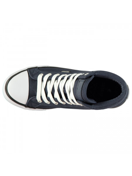 SoulCal - Asti Canvas Men's Hi Top Trainers