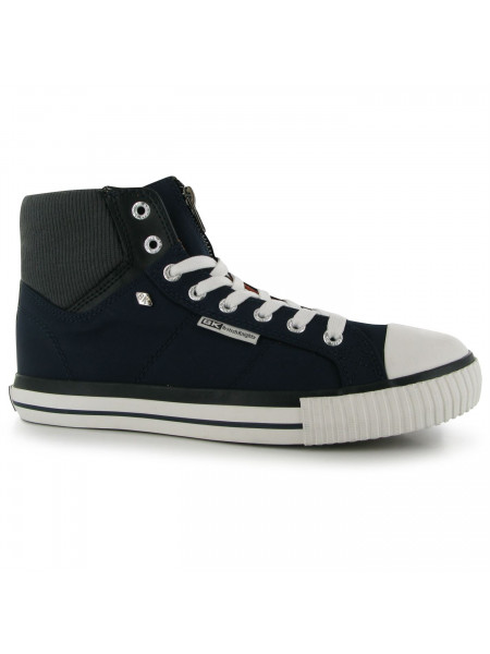 British Knights - Opie Zip Hi Top Shoe Mens