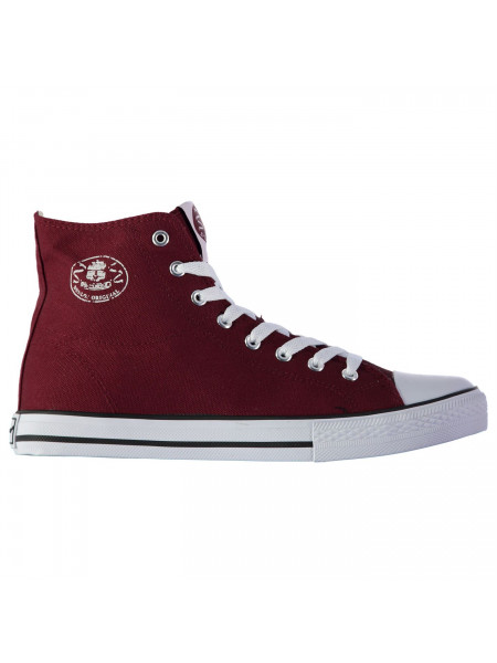 Dunlop - Mens Canvas High Top Trainers