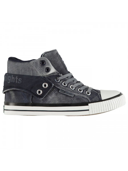 British Knights - Roco Fold Canvas Mens Hi Tops