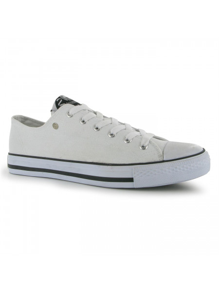 Dunlop - Mens Canvas Low Top Trainers