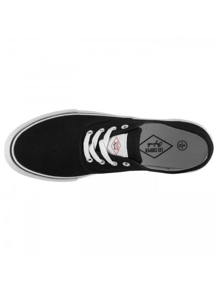 Lee Cooper - Canvas Val Shoes Mens
