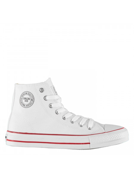 SoulCal - Canvas High Top Trainers Ladies
