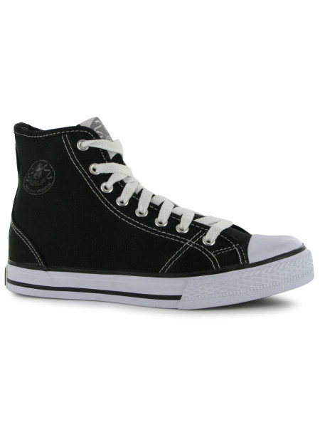Dunlop - Ladies Canvas High Top Trainers
