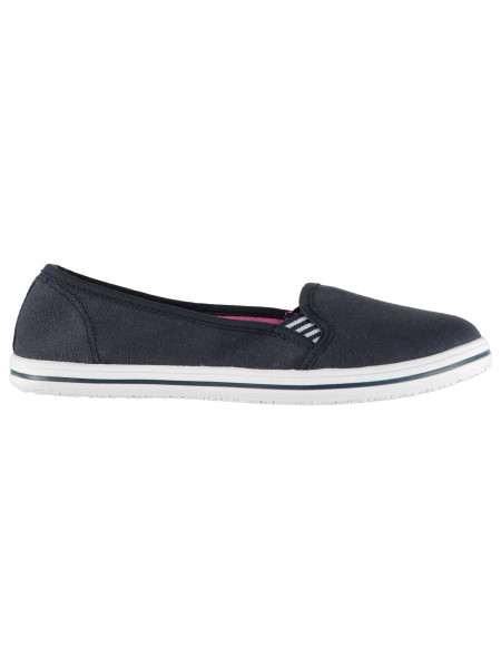 Slazenger - Ladies Canvas Slip On Shoes