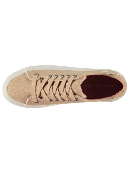 Rocket Dog - Milkyway Canvas Trainers Ladies