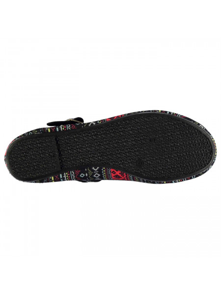 Miss Fiori - Ladies Canvas Mary Jane Shoes