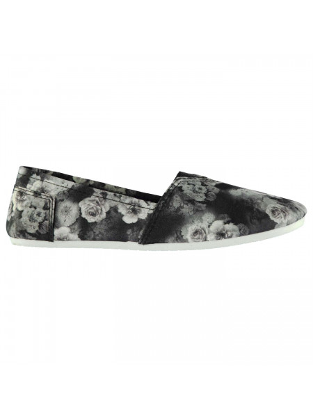 Miss Fiori - Ladies Sams Canvas Shoes