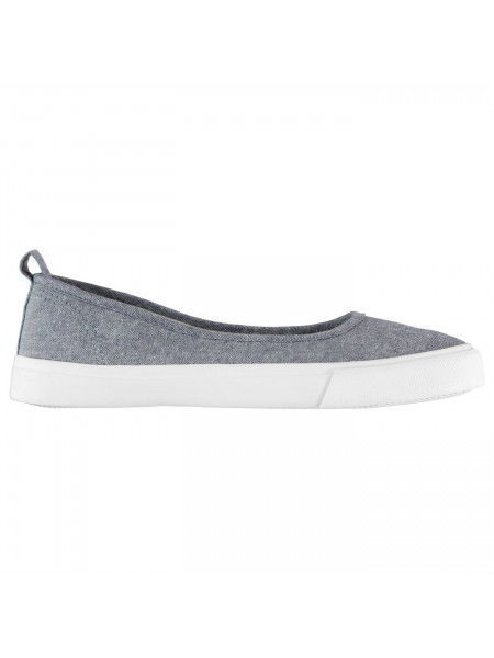 SoulCal - Canvas Ballet Trainers Ladies