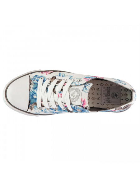 SoulCal - Low Pro Canvas Trainers Ladies