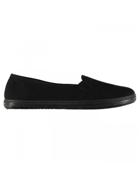 Slazenger - Canvas Ladies Slip Ons