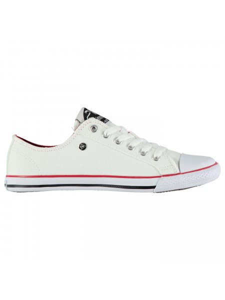 Dunlop - Canvas Low Profile Ladies Trainers