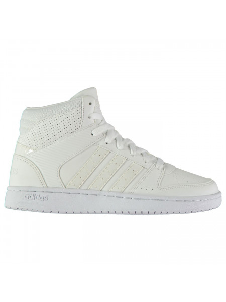 Adidas - Hoopster Ladies Mid Top Trainers