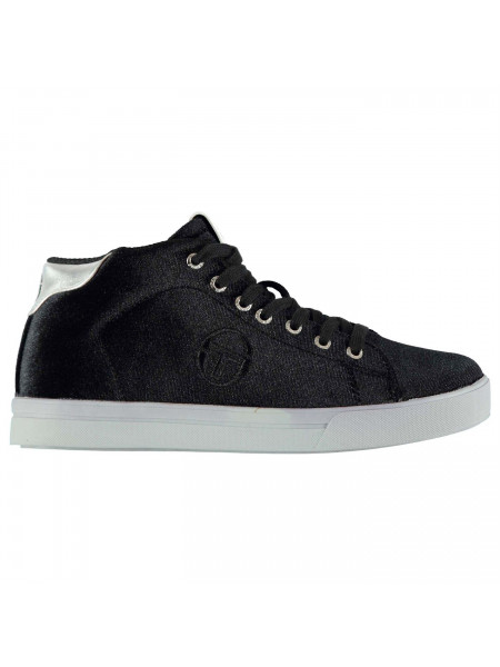 Sergio Tacchini - Ladies Velvet High Top Trainers