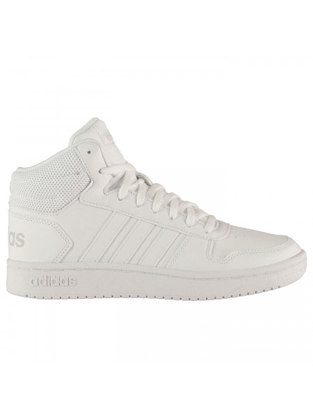 Adidas - Hoops 2.0 Mid Trainers Womens