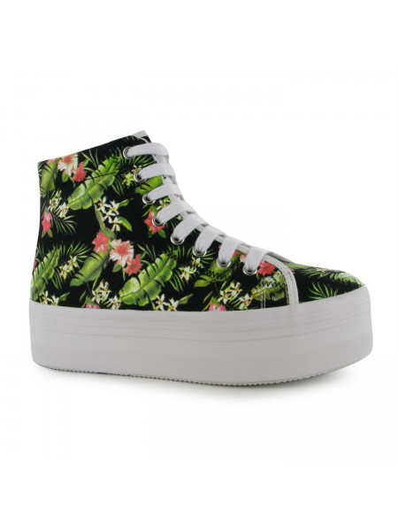 Jeffrey Campbell - Play Canvas Platform Shoes